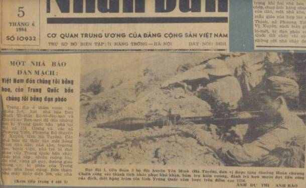 """Vietnam received us with flowers, the Chinese with grenades."""
